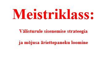 Meistriklass